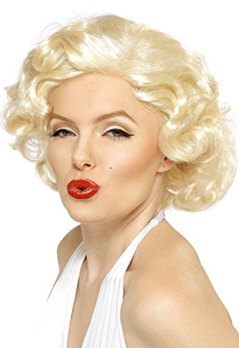 mbe Perücke Kurz, One Size (Marilyn Monroe Dress Up)