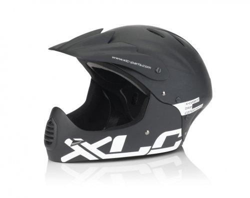 XLC BH-F03 Full Face Fahrradhelm schwarz/matt