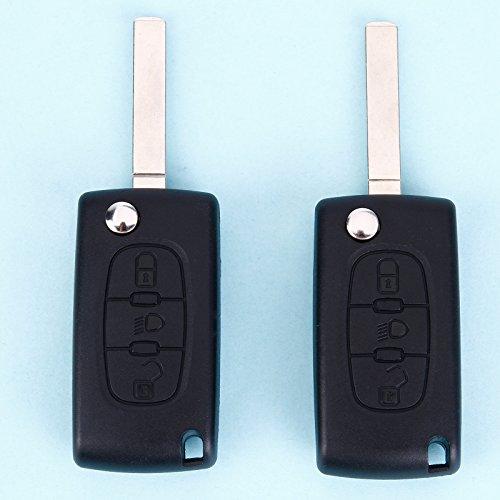 Paire Coque pliable concu Pour Peugeot Citroen