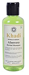 Khadi herbal Aloevera Shampoo 210ml