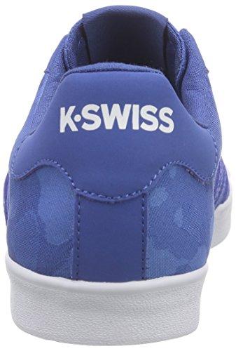 K-Swiss - Belmont So T Camo, Scarpe da ginnastica Uomo Blu (Blau (Brunner Blue Camo/White))