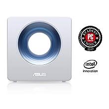 Asus - Routeur ASUS Wi-FI 5 - Routeur ASUS AC Blue Cave - Routeur Wi-Fi Ai mesh AC 2600 Mbps - Double Bande avec Sécurité AiProtection à Vie & Contrôle parental