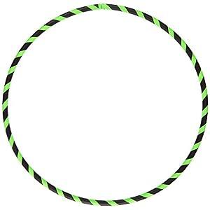 Hoopomania Anfänger Hula Hoop Reifen in Neon-Farben, Ø90 / 95/100/105 cm