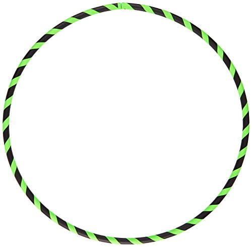 Hoopomania Anfänger Hula Hoop Reifen, Neon Grün, 100 cm