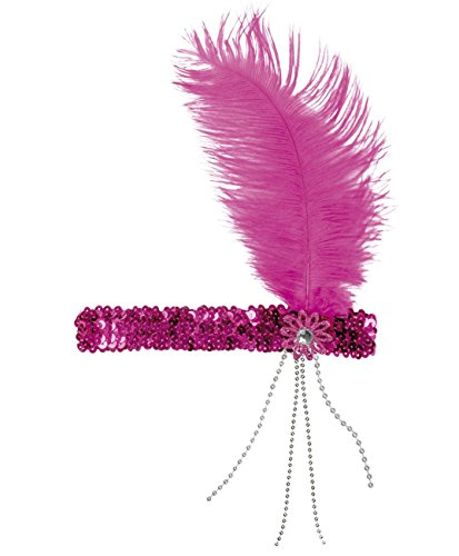 Boland 00619 Haarband Flapper, Damen, One Size