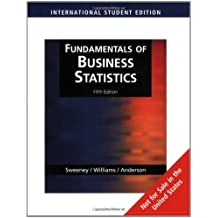 Fundamentals of Business Statistics, International Edition (with CD-ROM) by David Anderson (2008-03-23)