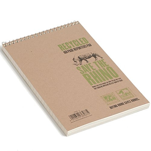 Save The Rhino 8 x 5-Inch Spiral Reporter Notebook Test