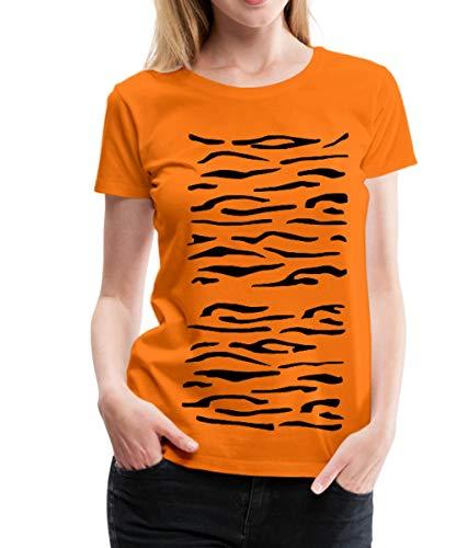 stüm Frauen Premium T-Shirt, L (40), Orange ()