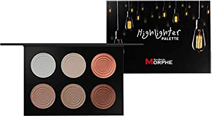 Kiss Beauty Morphe ace Powder Contour Bronzer Highlighter Palette Set Trimming Powder Makeup Face Contour Grooming Pressed Powder Highlighter  (Multi Twilight)