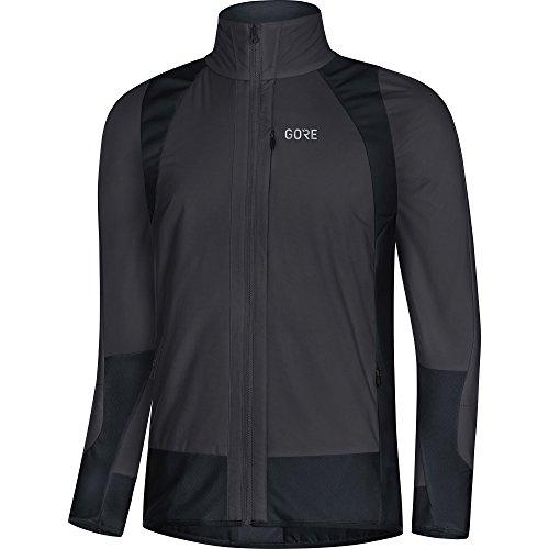 Isolierte Sicherheits-jacke Farbe (GORE Wear Winddichte Herren Fahrrad-Jacke, C5 Partial GORE WINDSTOPPER Insulated Jacket, XXL, Grau/Schwarz, 100370)