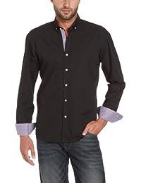 SELECTED HOMME Herren Hemd mit Manschetten Slim Fit 16029315 One Mix Class Shirt
