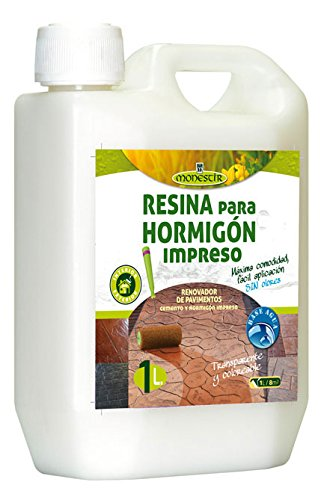 RESINA HORMIGON IMPRESO Fórm. Agua - 10L MONESTIR