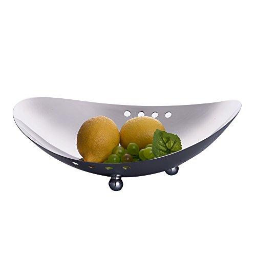IMEEA-Moderne Obstschale Süßigkeiten Schüssel SUS304 Edelstahl