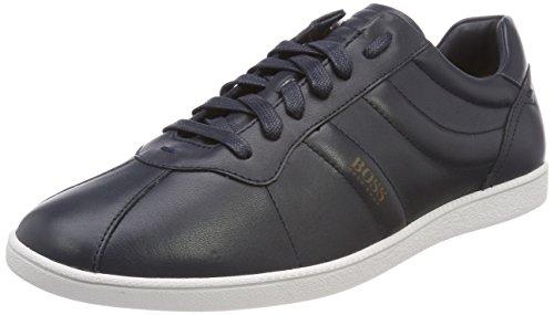 BOSS Herren Rumba_Tenn_ltpl Sneaker, Blau (Dark Blue 401), 44 EU