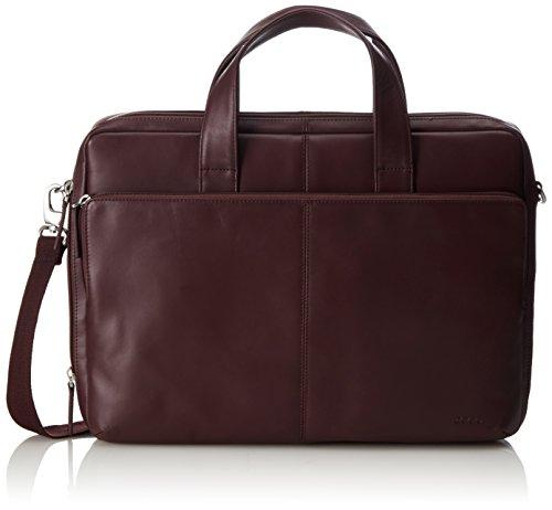 Ecco ECCO Foley, Sacs portés épaule mixte adulte, Rouge (Rot (90084), 45x33x8 cm (B x H x T)