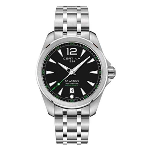 Certina DS Action Diver Herren-Armbanduhr 41mm Batterie C032.851.11.057.02