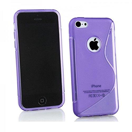 Coque de protection pour Apple iPhone 6étui de protection S Line Coque de protection en TPU Case coque lilas