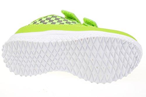 Gibra ® enfant avec fermeture velcro-vert fluo-taille :  25–36 Vert - Neongrün
