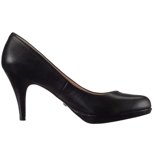 Buffalo London 109-3499 KID LEATHER 107972 Damen Pumps Schwarz (Black 01)