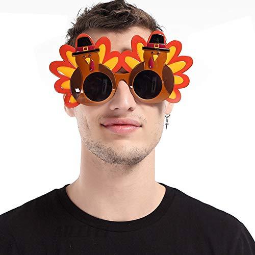 Türkei Man Gläser Thanksgiving Brillen Kostüm Sonnenbrillen für Happy Thanksgiving Day Party Dekoration