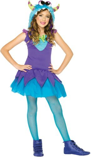 Girl Monster Erwachsene Kostüm Für - Girl's Cross-Eyed Carlie Monster Costume