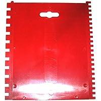 Leim Klebstoff Zahnspachtel Bodenleger Normalstahl A1 0.6x1.4mm gezahnt 250mm