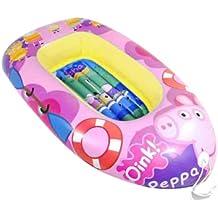 Peppa Pig - Barca hinchable (Saica Toys 9115)