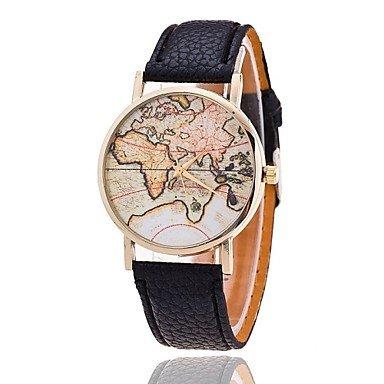 Unisex Weltkarte style watch / Jahrgang Weltkarte / Antiken-Weltkarte / Damenuhr / women...