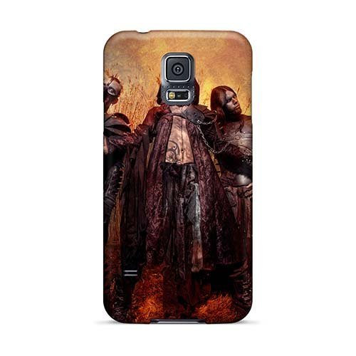 Aaronblanchette Samsung Galaxy S5Durable cell-phone hard Covers provide private Custom Realistic Finntroll Band Series [YEP12692OLKB]