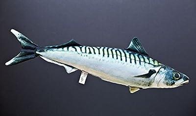 Kissen Fisch Die atlantische Makrele 50 cm Kuschelfische Kuscheltie Kopfkissen von Gaby - Gartenmöbel von Du und Dein Garten