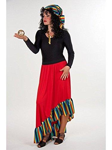 Verkleidung Zigeunerin Größe - Zigeuner Kostüm