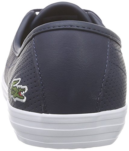 Lacoste Ziane Chunky 116 2 Spw, Chaussures Bateau Homme Rouge (Black)