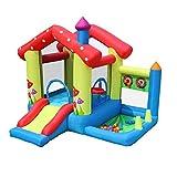 Spielplatz Fitnessgeräte 4 Kinder-Trampolin Indoor-Haus Aufblasbare Burg Indoor-Spielhaus Spiel...