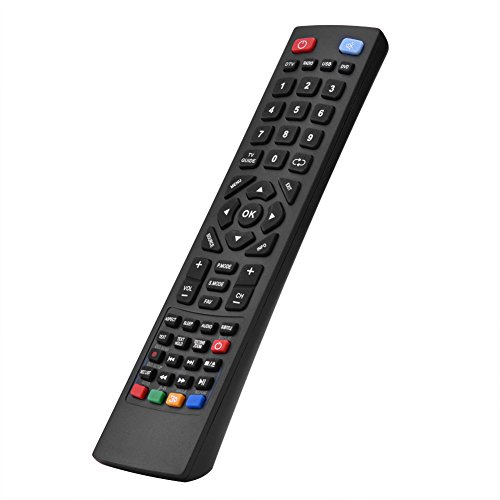 Tosuny Telecomando Universale Smart TV per Alba Bush/Technika/Blaupunkt/Sharp/E-Motion, Distanza più di 10 Metri / 32,81FT