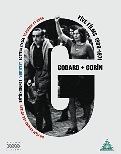 Jean-Luc Godard + Jean-Pierre Gorin: Five Films 1968-1971 (6 Blu-Ray) [Edizione: Regno Unito]