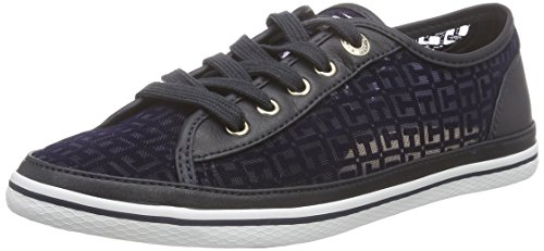 Tommy Hilfiger K1285esha 13c Damen Sneakers Blau (MIDNIGHT 403)