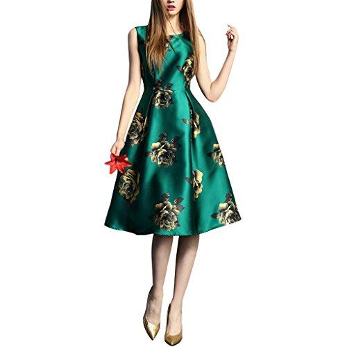 buenos-ninos-womens-sleeveless-flower-printed-slim-fit-vintage-cocatail-flare-dresses-green-xxl