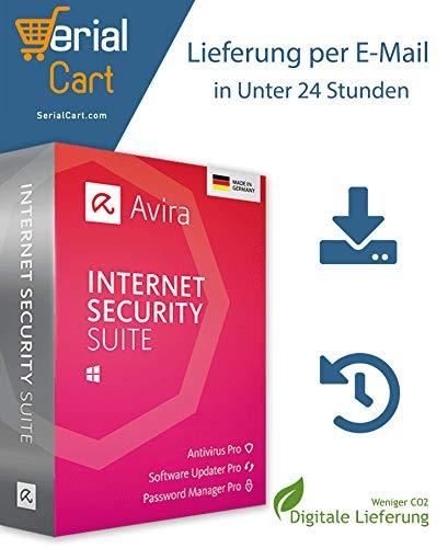 Avira Internet Security Suite 2020 | 3 Geräte / 1 Jahr | von SerialCart [Aktivierungscode per Post/Download]