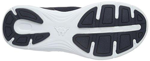 Kappa Unisex-Erwachsene Trust Low-Top Blau (6710 navy/white)