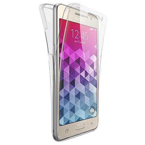 CABLING® Coque DOUBLE GEL Silicone Protection INTEGRAL Samsung Galaxy Grand Prime