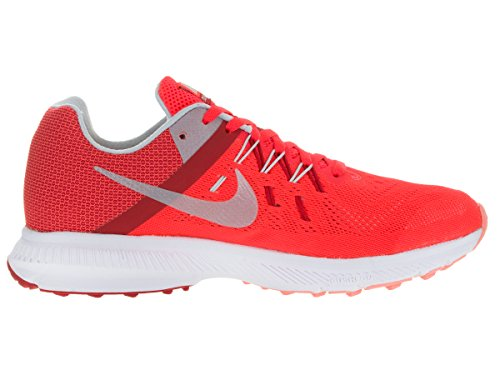 Nike Wmns Zoom Winflo 2, Scarpe da Corsa Donna Arancione (Naranja (Brght Crmsn / Mtlc Pltnm-Unvrsty))