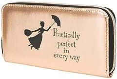 Idea Regalo - Disney Pochette Elegante Donna Mary Poppins Portafogli Finta Pelle