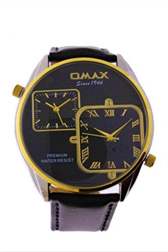 OMAX Herrenuhr FC10T22I Zwei Zeitzonen