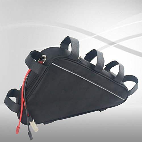 Rahmenakku in Tasche 36V 20Ah 720Wh Pedelec E-Bike Ebike Lithium-Ionen Akku Batterie Battery + BMS + Ladegerät