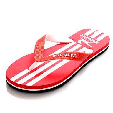 Slippers & amp da uomo;Estate Slingback gomma sandali casuali piani del tallone sandali US8.5-9 / EU41 / UK7.5-8 / CN42