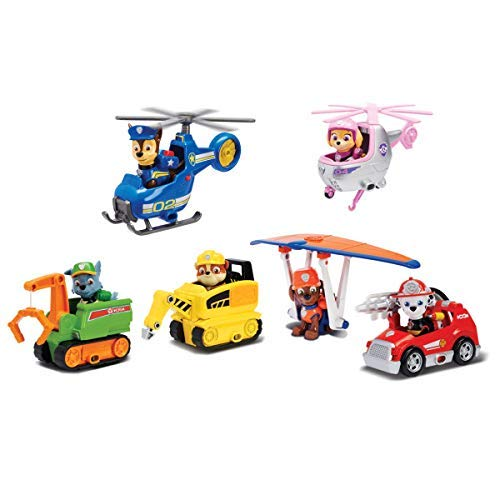 Paw Patrol - 6044194 - Mini Vehicle + Figurine Ultimate Rescue - The Pat 'Patrol - Random Model