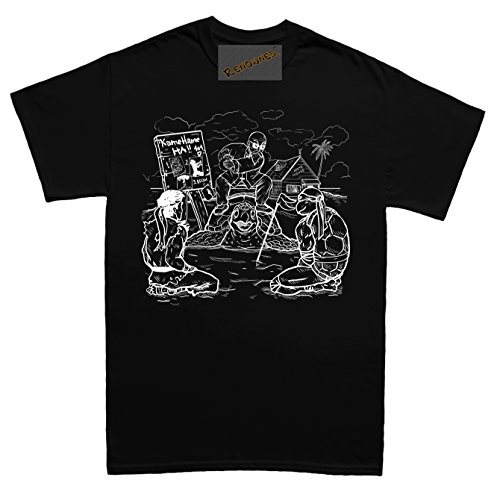 Renowned Trained by the Great Master Herren T Shirt Schwarz