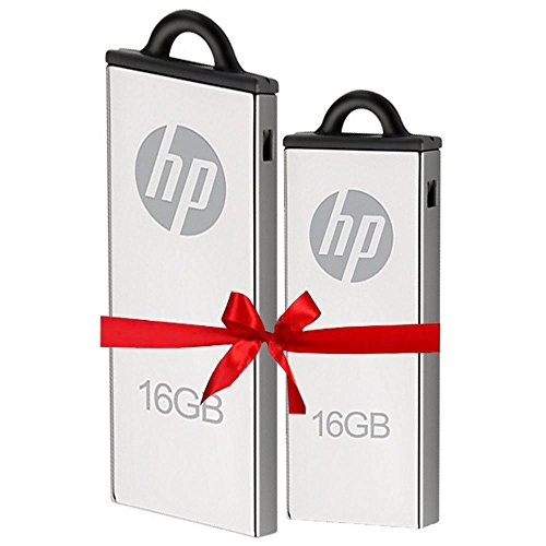 HP V220W 16GB USB 2.0 Pendrive (Pack of 2)  available at amazon for Rs.1095