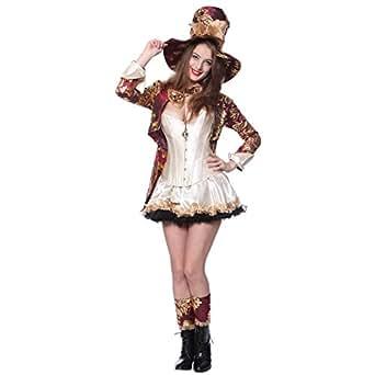 d guisement costume tenue aventures chapelier fou alice au pays des merveilles wonderland corset. Black Bedroom Furniture Sets. Home Design Ideas