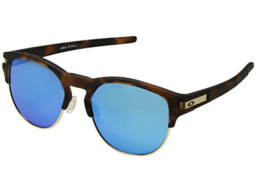 Oakley Herren Latch Key 939407 Sonnenbrille, Schwarz (Matte Brown Tortoise), 55